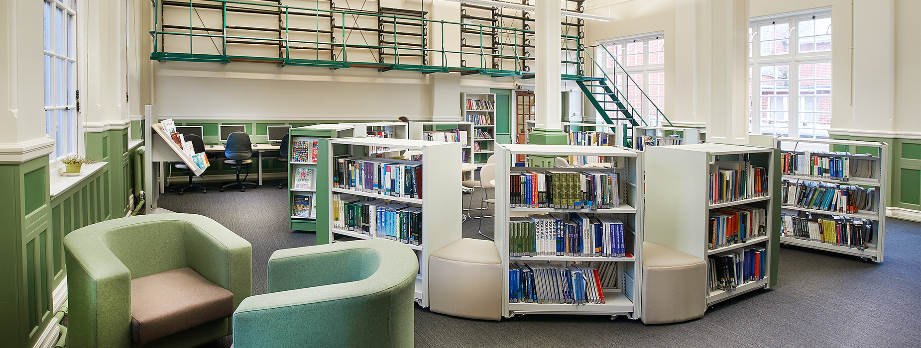 An image for Secondary Schools & Colleges libraries